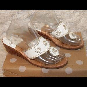 Jack Rogers Navajo Mid Wedge Thong Sandals